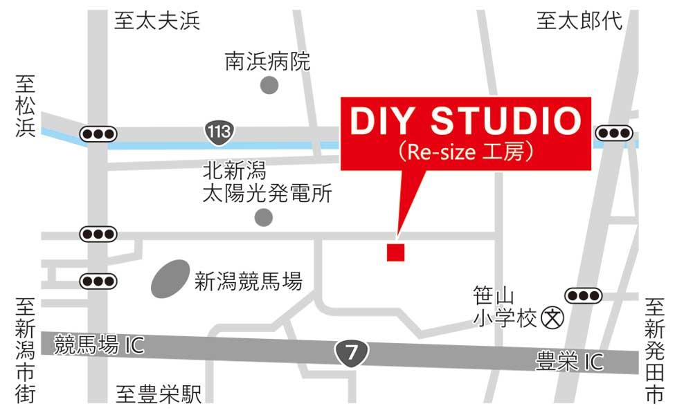 DIYSTUDIOマップ